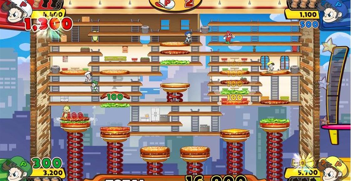 Game Ninja: BurgerTime Party!