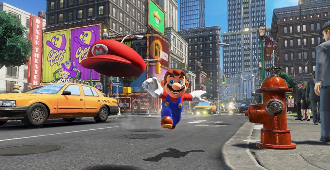 Game Ninja: Super Mario Odyssey (Lord of Lightning)