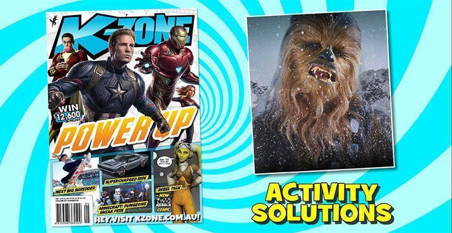 MAY 2019 ISSUE ACTIVITY SOLUTIONS