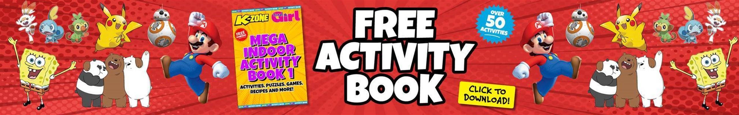 Free Mega Indoor Activity Book