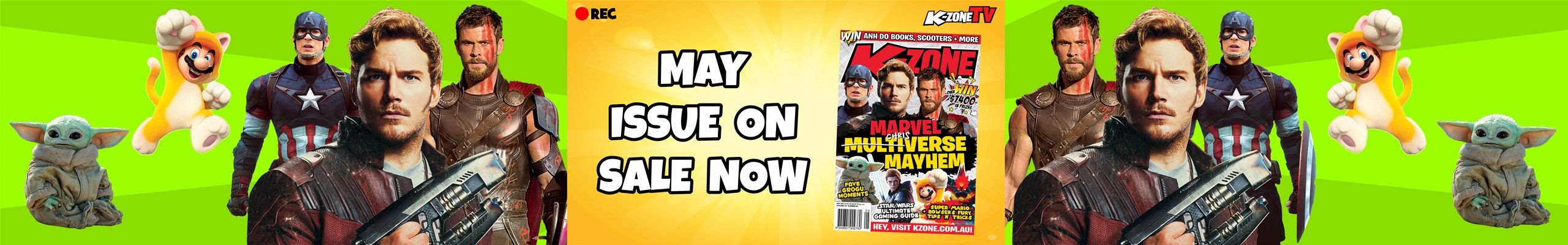 K-Zone May Issue Teaser: Marvel Multiverse Mayhem