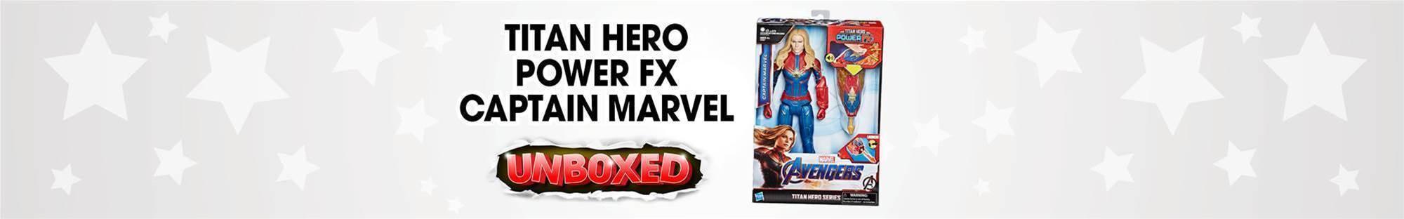 Captain Marvel Titan Hero Unboxing