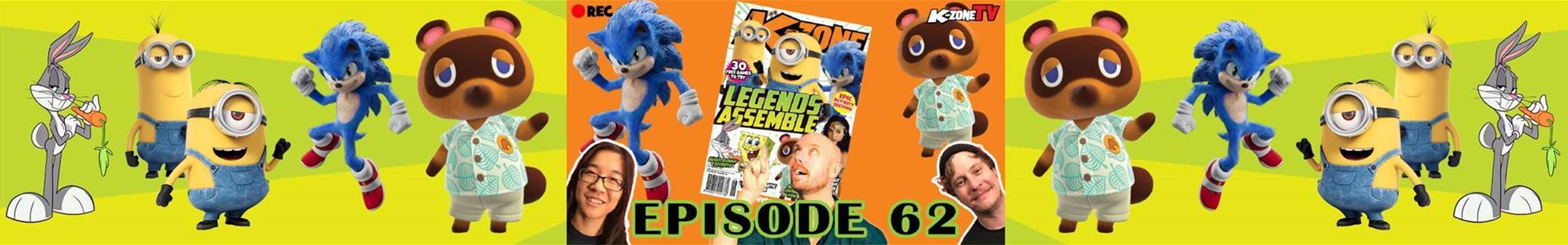 K-Zone TV Episode 62: Legends Assemble