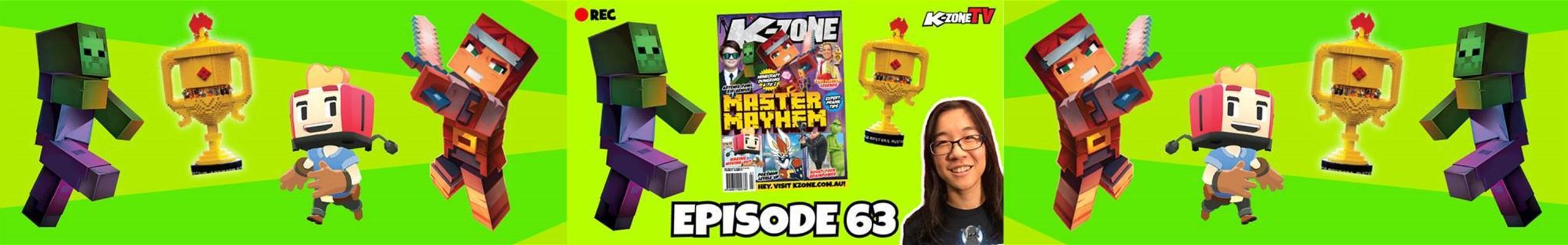 K-Zone TV Episode 63: Master Mayhem