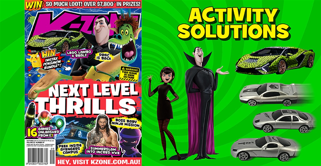 SEPTEMBER 2021 ISSUE ACTIVITY SOLUTIONS