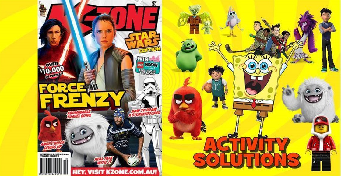 OCTOBER 2019 ISSUE ACTIVITY SOLUTIONS