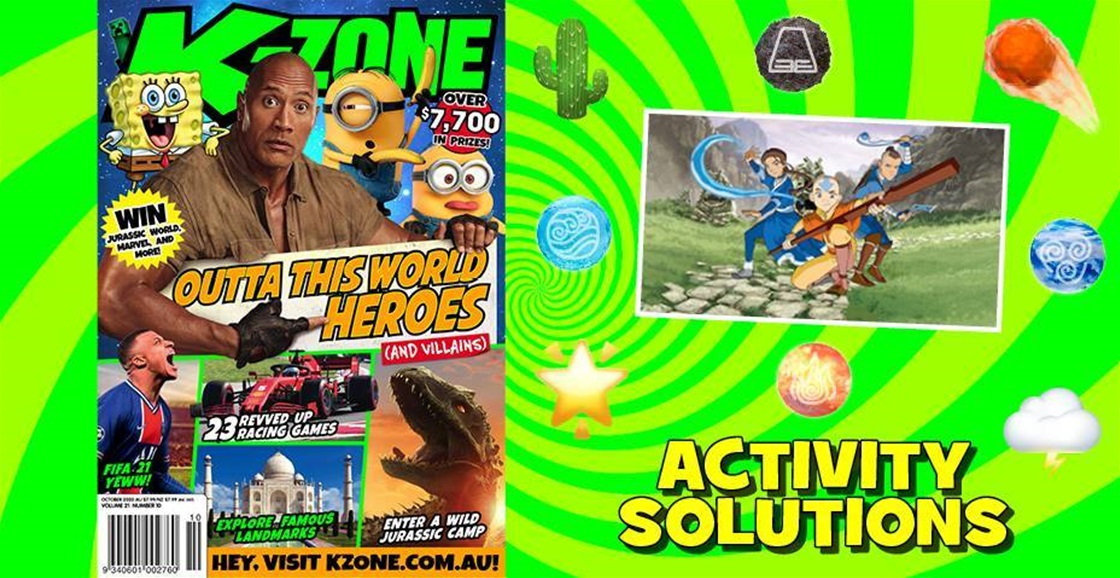 OCTOBER 2020 ISSUE ACTIVITY SOLUTIONS