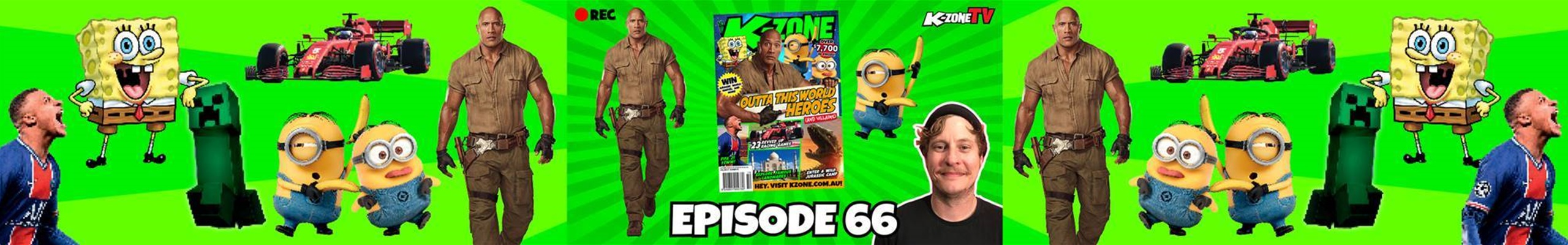 K-Zone TV Episode 66: Outta This World Heroes (and Villains)