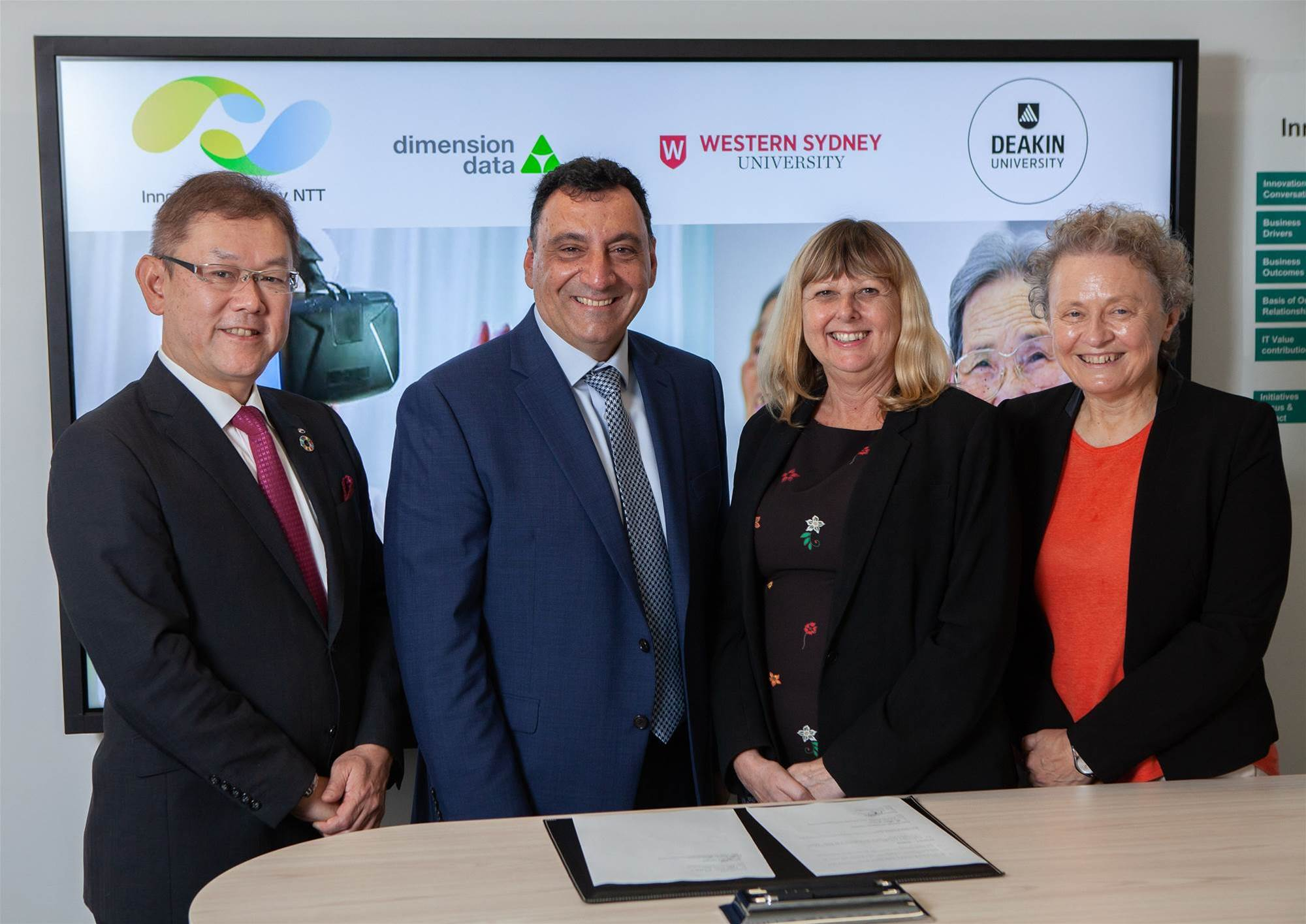 DiData, NTT collaborate with Aussie unis on healthcare tech
