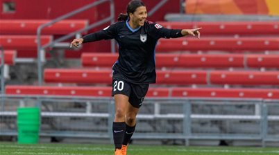 'It's something I'll remember for ever': Kerr breaks her own NWSL goalscoring record