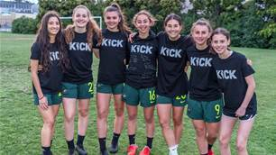 'KICK' inspires next generation