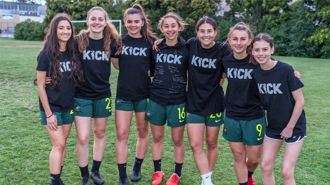 'KICK' inspires next generation