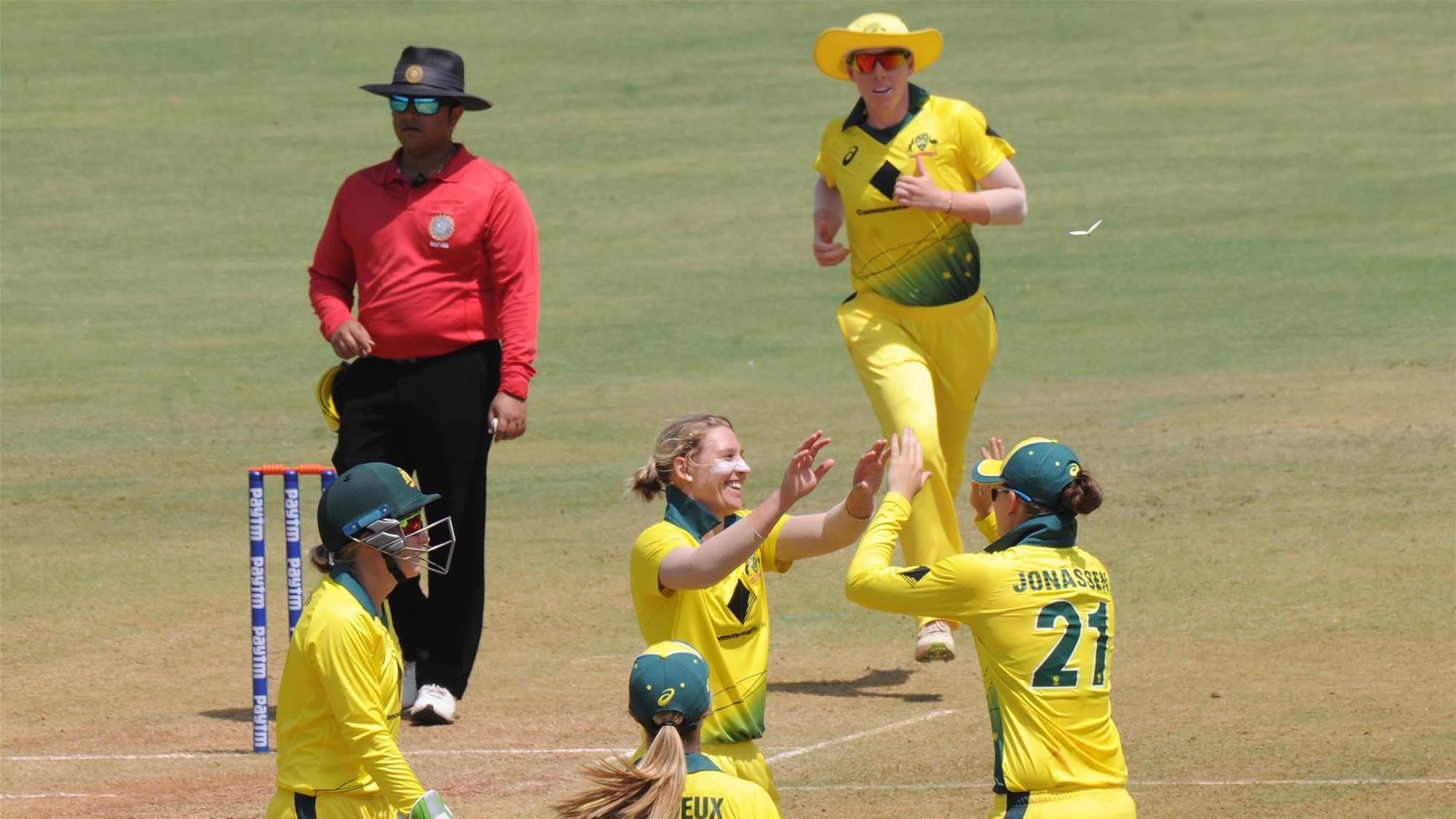 Australia's brilliant bowling effort crushes England