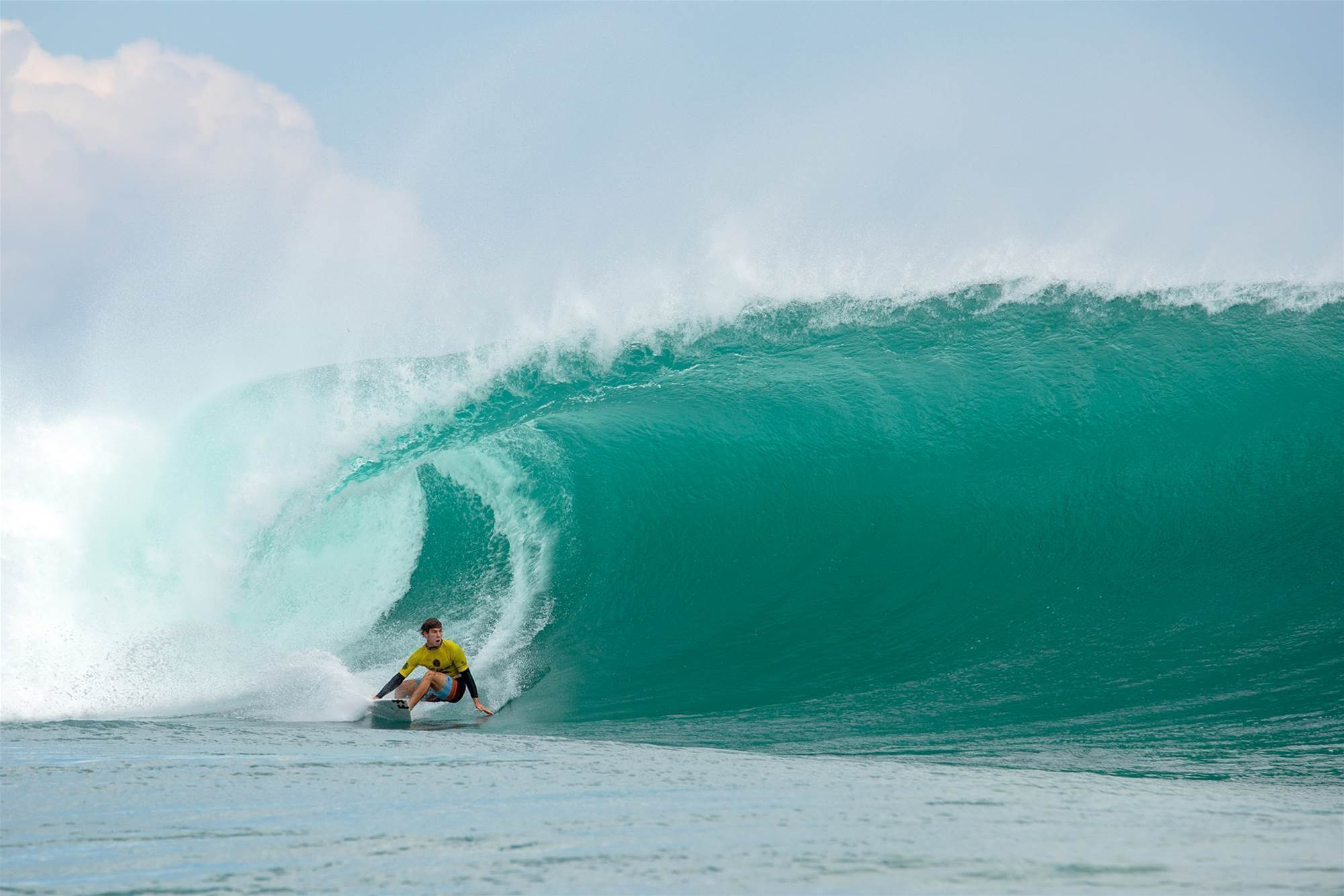 Tube Virtuoso, Jack Robinson, Wins Rip Curl Cup