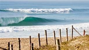 Beach breaks and beat downs in Hossegor, France