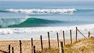 Beach breaks and beat downs in Hossegor, France