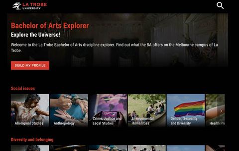 La Trobe Uni builds AI 'Explorer' to help Arts students visualise a career