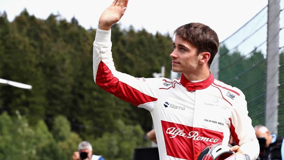 Leclerc confirmed at Ferrari as Raikkonen returns to Sauber