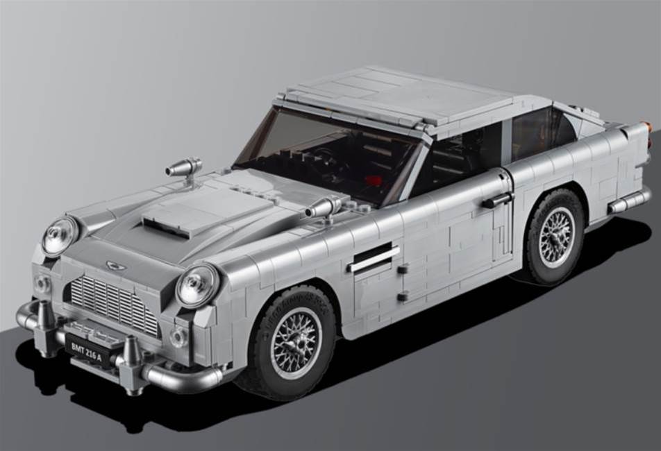 The Lego Aston Martin DB5 is here, and yes, it has an ejector seat