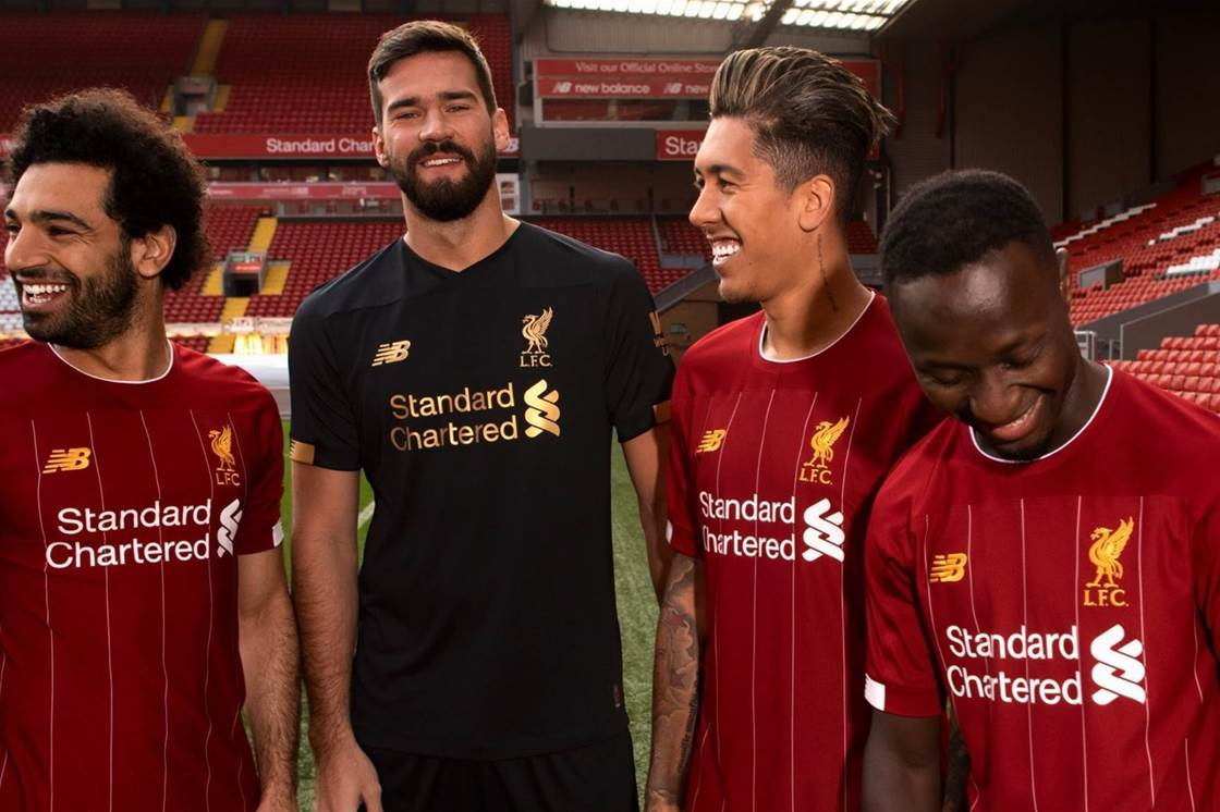 Liverpool's 2019-20 home kit revealed!