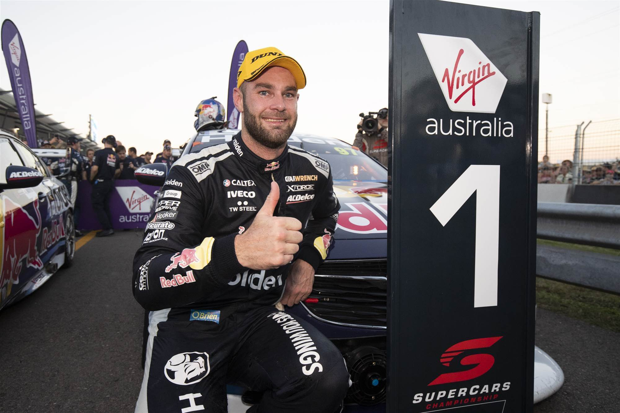 Triple Eight on top in Townsville Supercars
