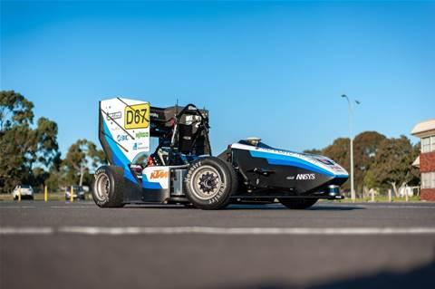 Monash Uni debuts autonomous race car