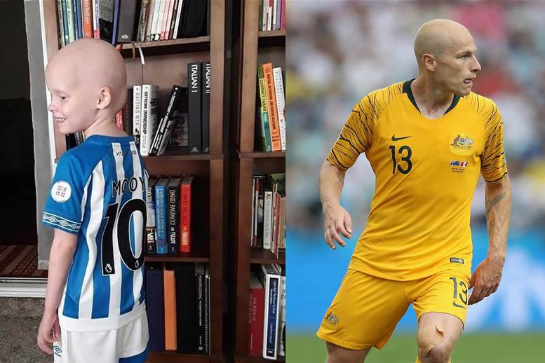 How Aaron Mooy changed young Bella's life