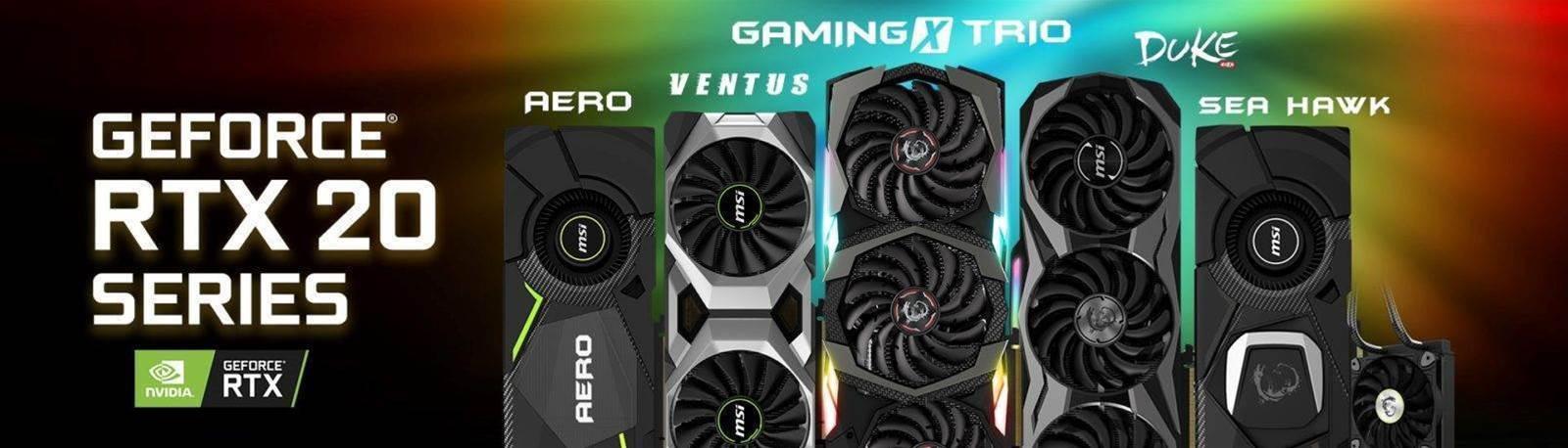 MSI spoils Nvidia's big reveal of the RTX 2080