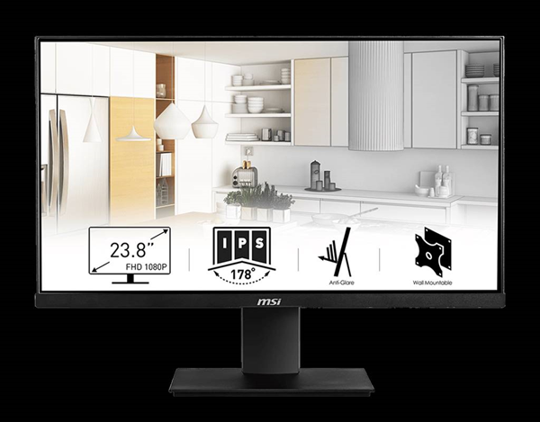 MSI Pro MP241 24-inch monitor review