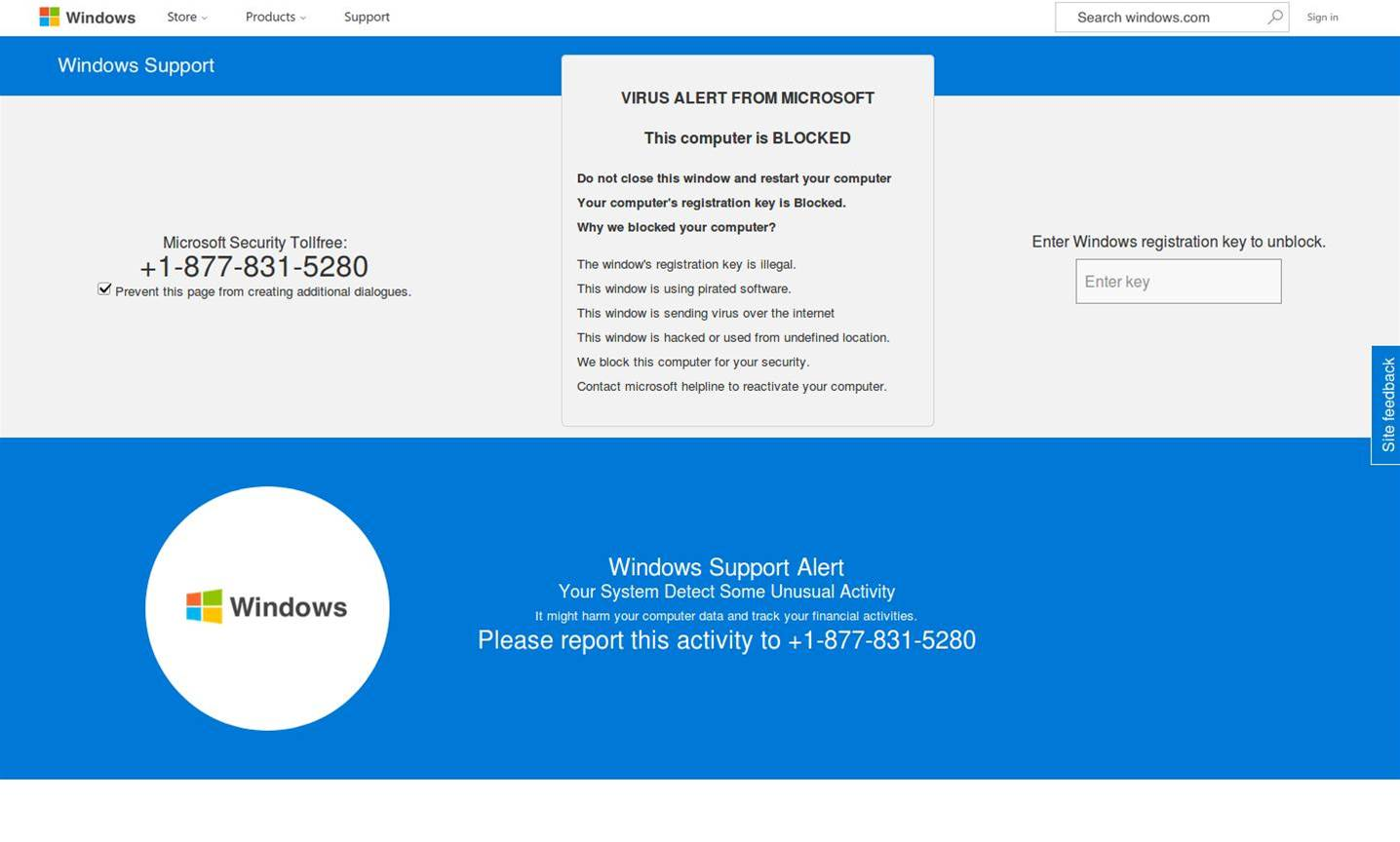 Microsoft 'tech support' scammers infest Azure hosting
