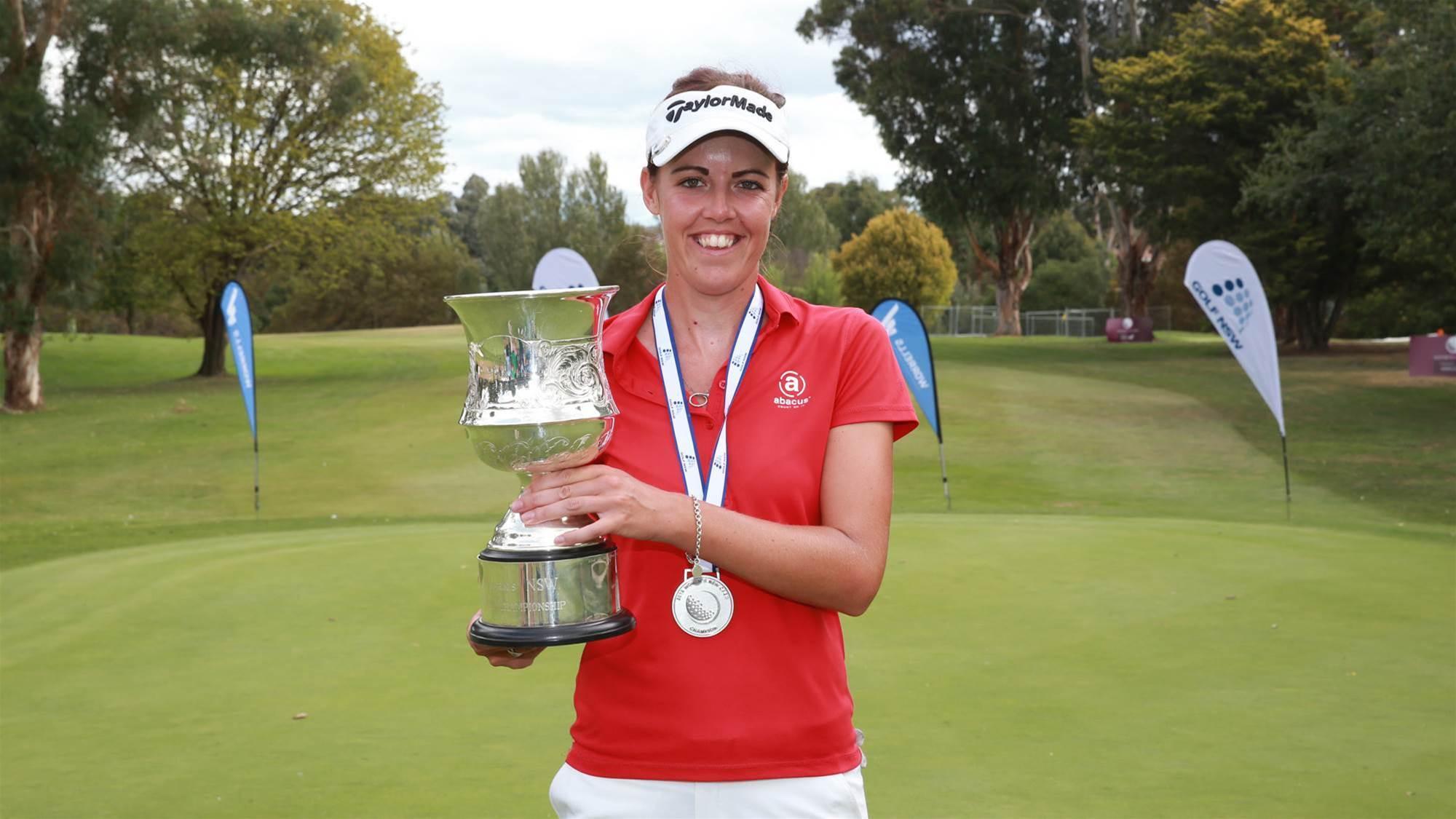 MacLaren defends Women's NSW Open crown