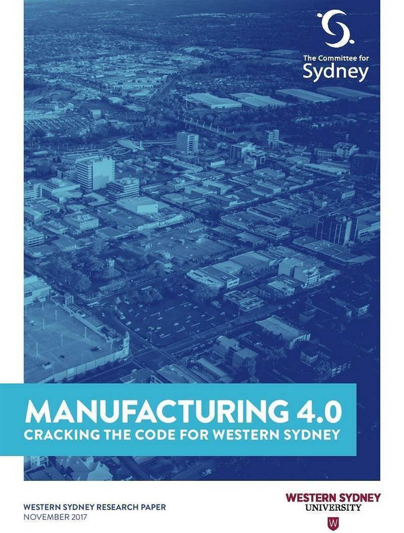 Western Sydney tipped to lead Australia in Industry 4.0