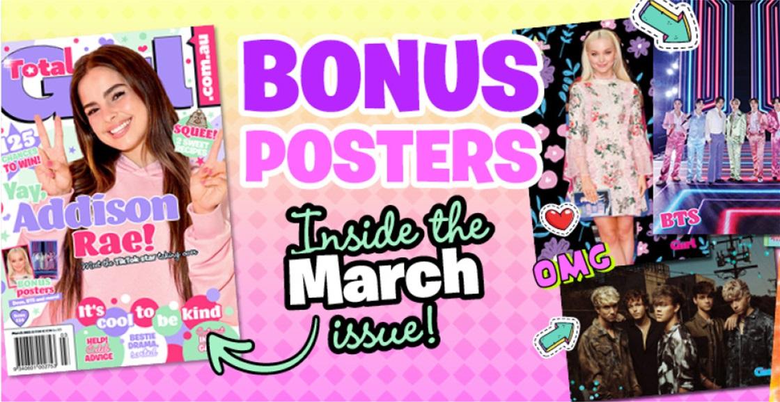BONUS posters sneak peek!
