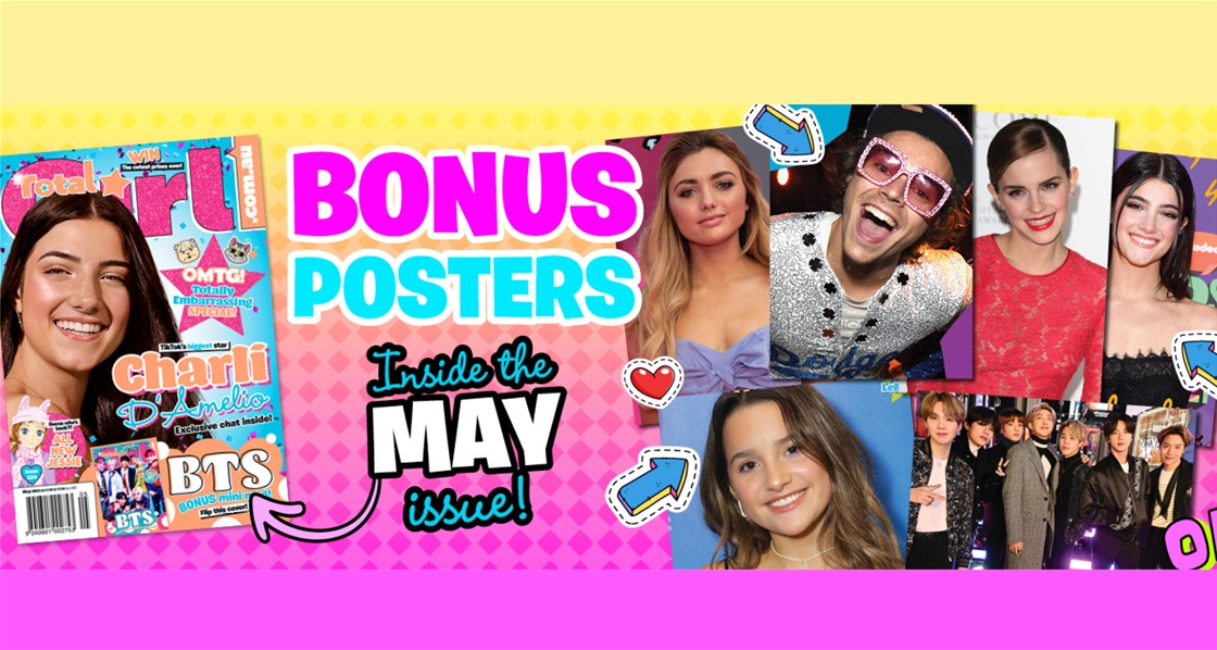 BONUS posters inside the May issue and more!