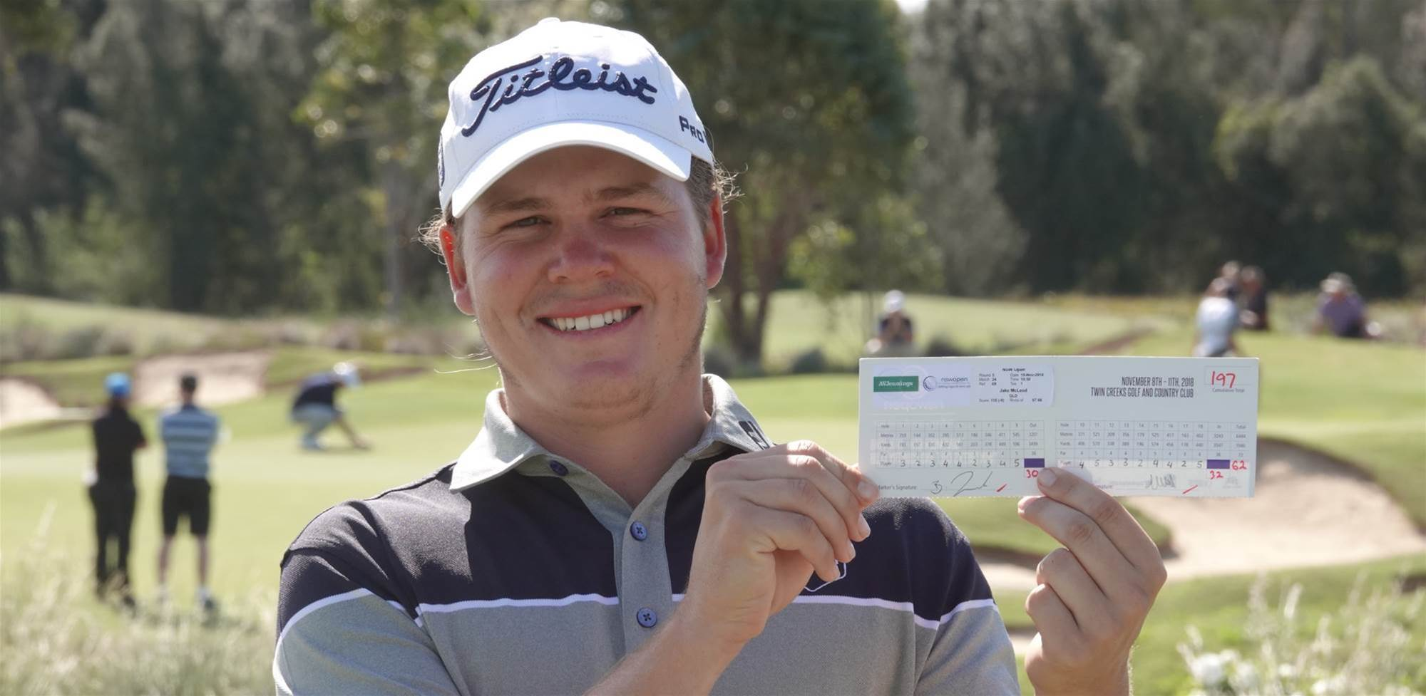 Record setting McLeod takes NSW Open lead
