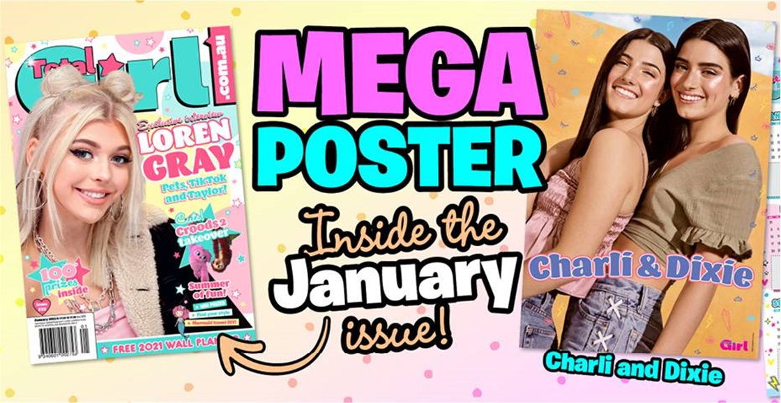 Free 2021 Wall Planner and Mega Poster