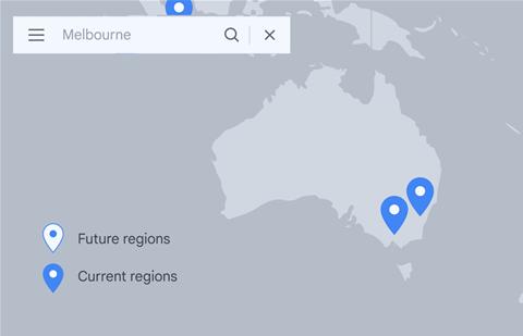 Google Cloud expands Aussie presence with new Melbourne region