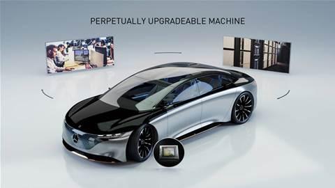 Mercedes-Benz cars to be built on Nvidia autonomous driving platform