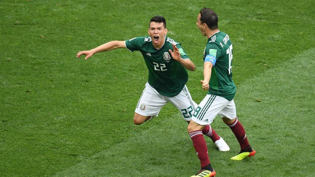 Mexico defeat Germany 1-0 in Group F