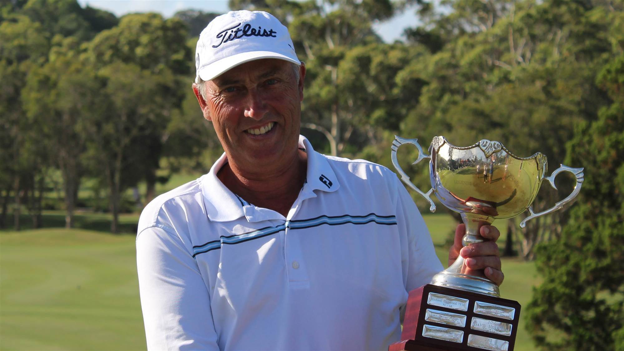 Harwood shines at Aussie Legends Tour Championship
