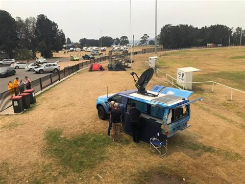 NBN Co sends Road Muster truck to NSW south coast