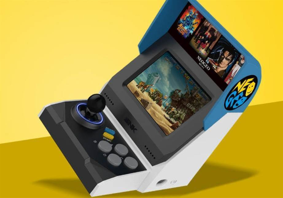 NEOGEO mini is a tiny arcade cabinet for playing SNK's greatest gaming hits