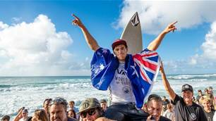 Jack Robinson Named Australian Male Surfer of the Year