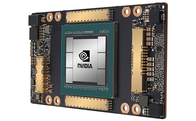 Nvidia unveils 7nm ampere A100 GPU to unify training, inference