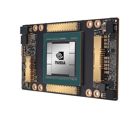 10 servers using the new Nvidia A100 GPUs