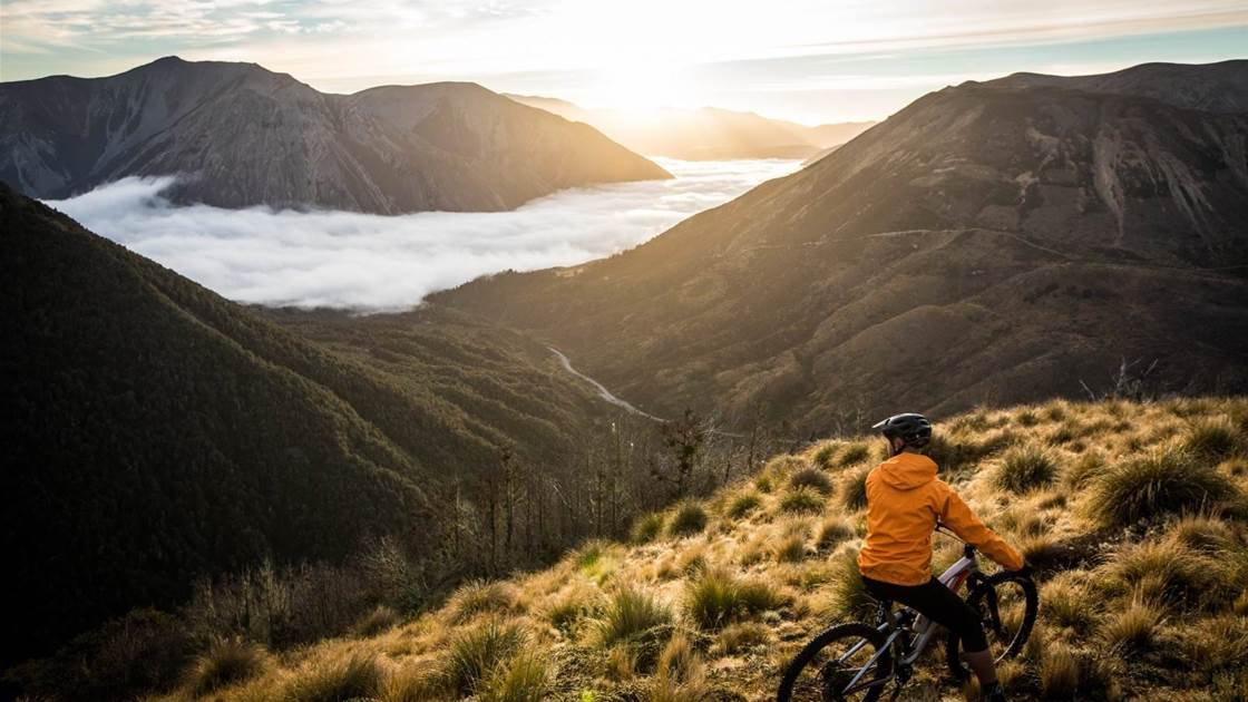Bikepacking up high