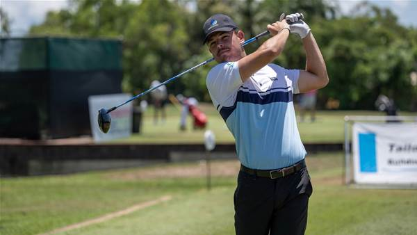 Gun amateur Barbieri leads the way at NT PGA
