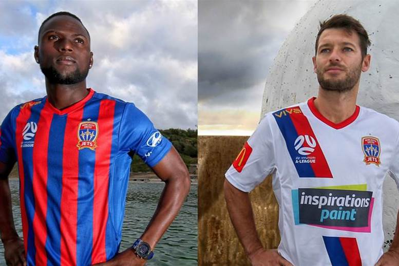 New kits unveiled by Jets for upcoming A-League season