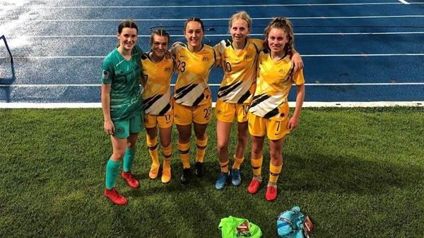 Junior Matildas nominated for global award