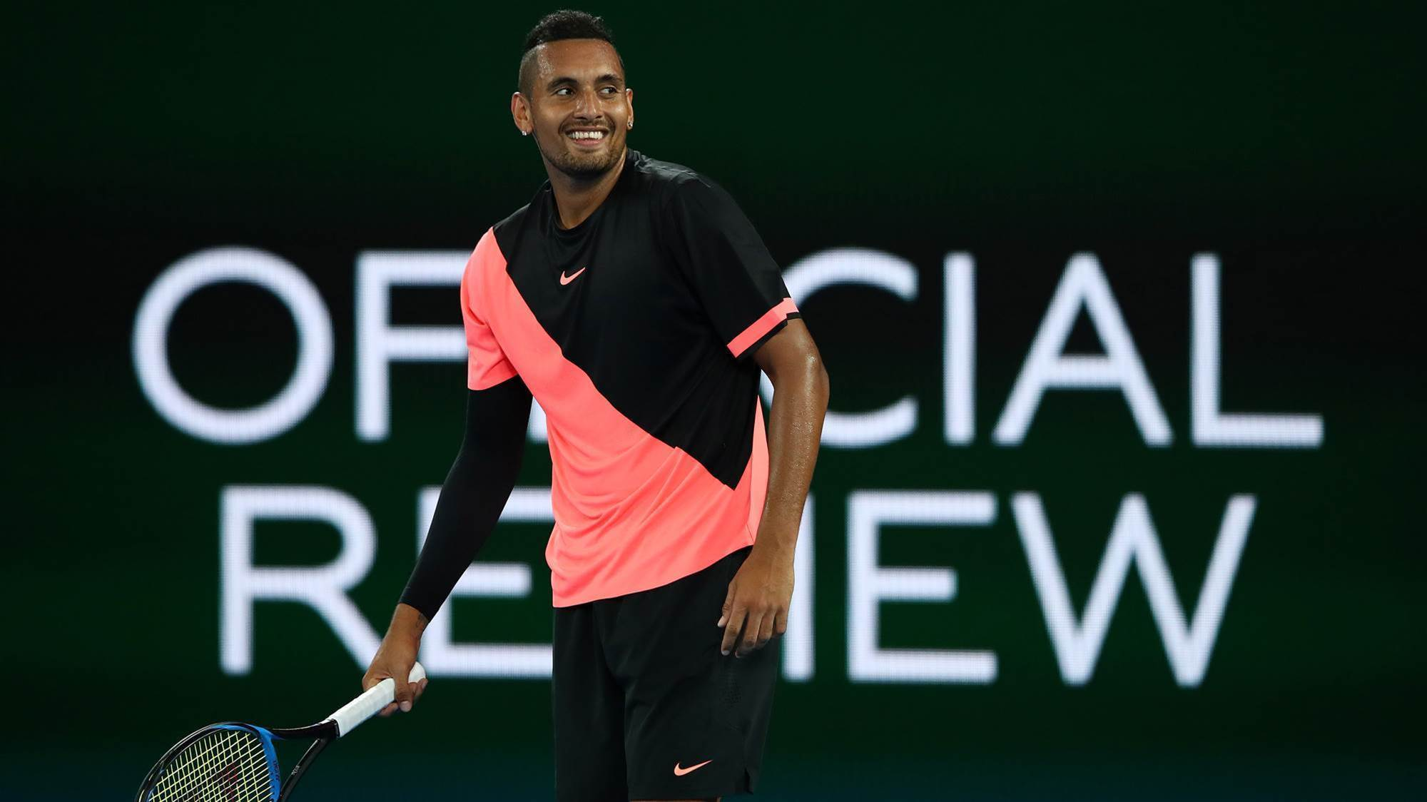 Kyrgios: I haven't changed